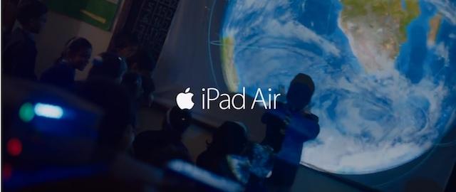 iPad Air light verse