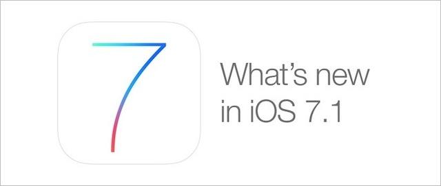iOS 7.1 co nowego