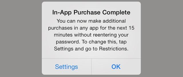 iOS 7.1 zakupy w aplikacji