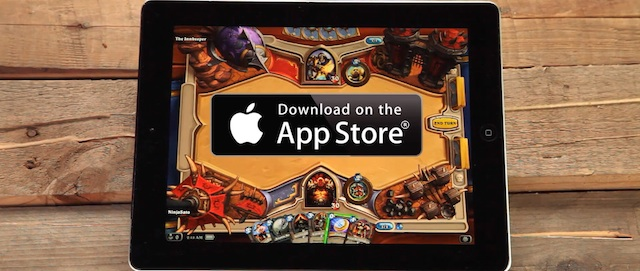 Hearthstone Heroes of Warcraft iPad