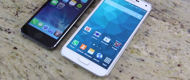 Touch ID vs Samsung Galaxy S5