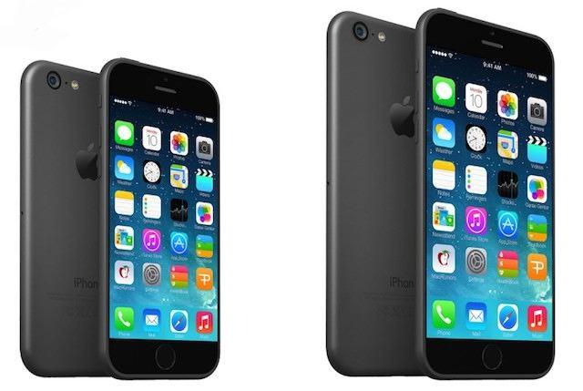 "Renderingi iPhone'a 6 (4.7"") i iPhone'a 6 (5.7"")"