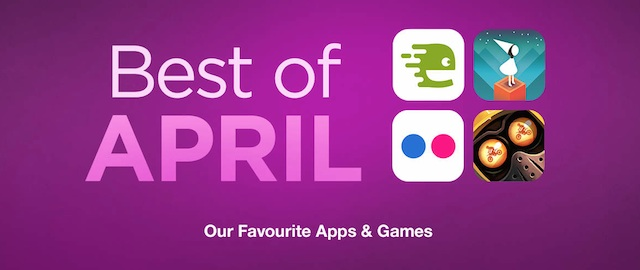 Best of April App Store