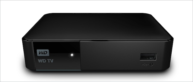 WD TV front image