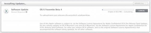 OS X Yosemite beta 4