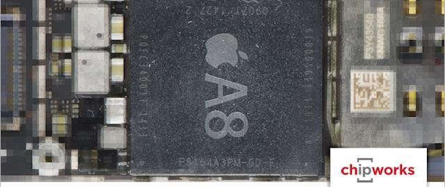procesor A8 iPhone