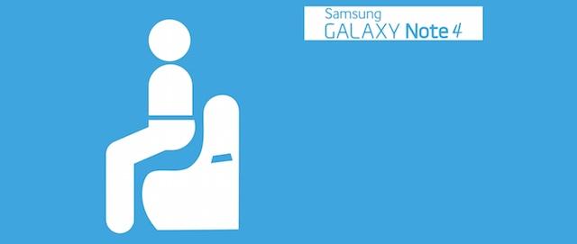 test zginania Samsung Galaxy Note 4