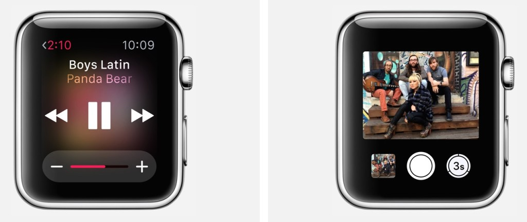 Apple Watch aplikacje