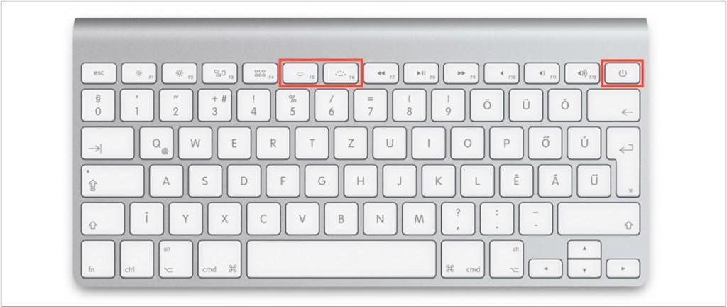 bezprzewodowa klawiatura Apple