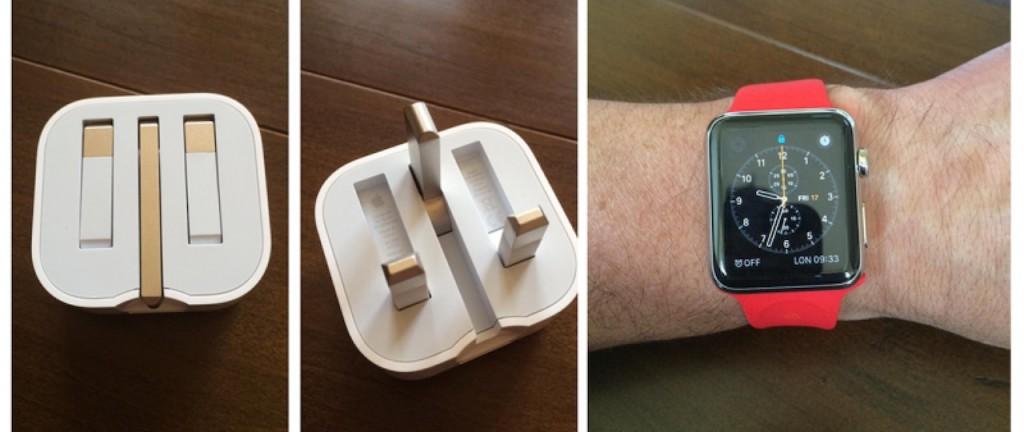 Folding-UK-Plug-and-Red-Apple-Watch-800x460