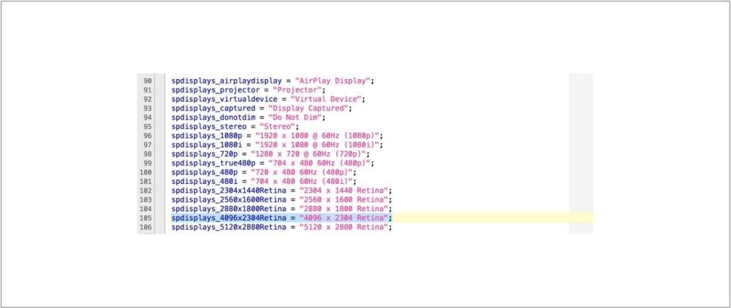 21,5 iMac retina code