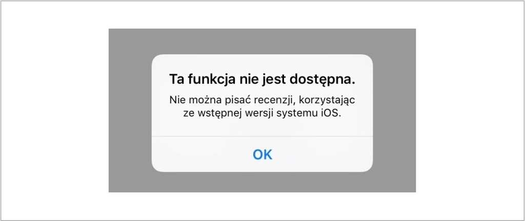iOS 9 beta recenzje