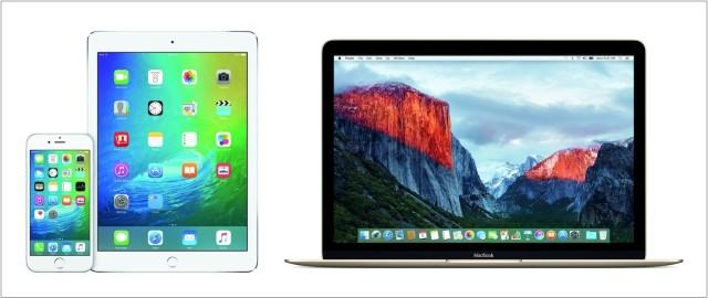 iOS9 OS X El Capitan
