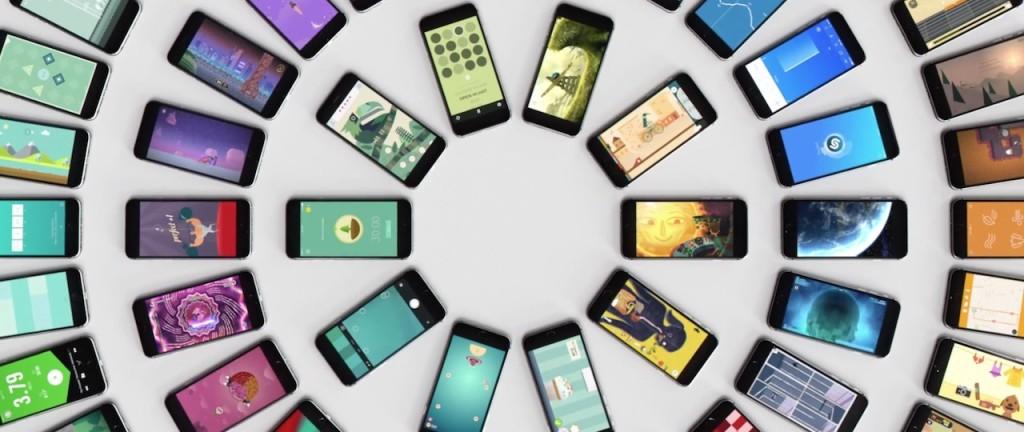 reklama iPhone aplikacje