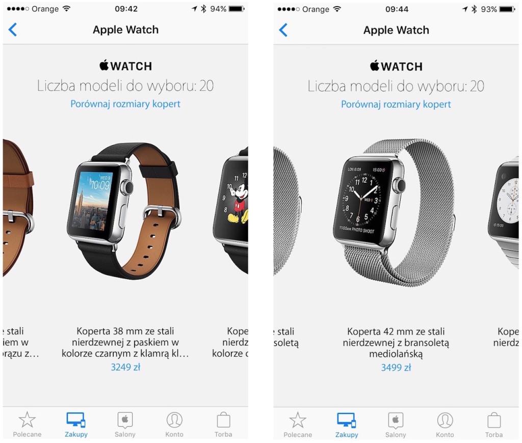 Apple Watch w Polsce