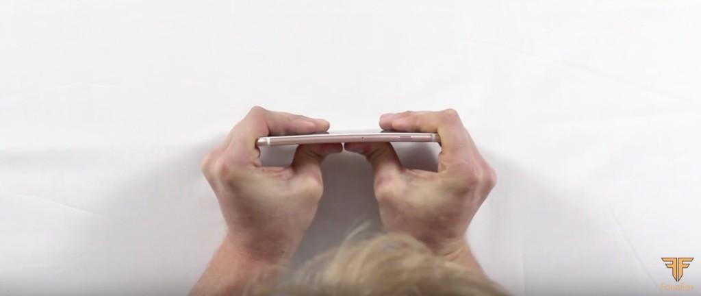 test zginania iPhone 6S Plus