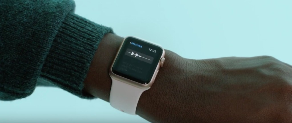 Apple Watch reklama