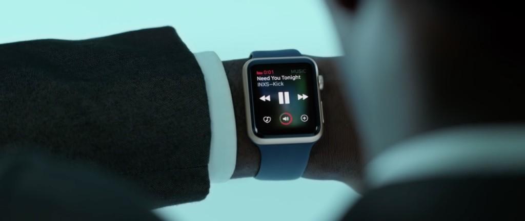reklama Apple Watch