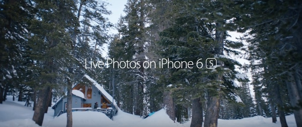 reklama iPhone 6S