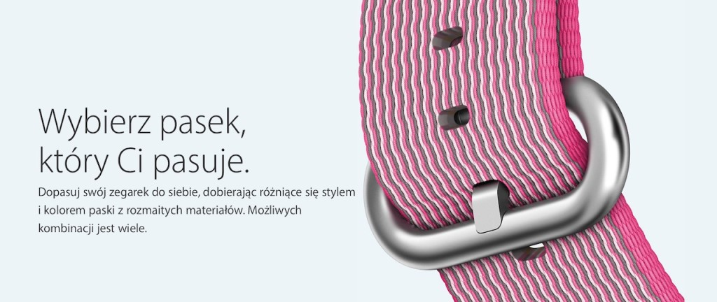 nylonowe paski Apple Watch