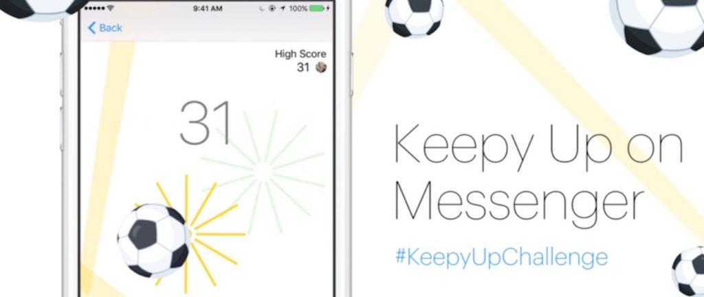 Messenger-soccer-game