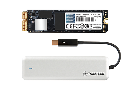 Dysk ssd transcend jet drive 850 apple 480gb pcie ssd for mac
