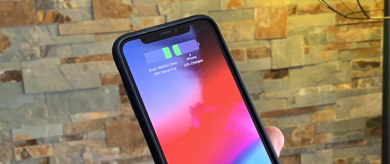 Wygląda na to, że Smart Battery Case dla iPhone'a XS jest