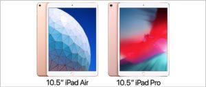 Najnowszy 10,5-calowy iPad Air kontra 10,5-calowy iPad Pro z 2017 roku